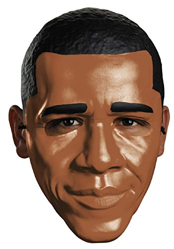 Obama Half Mask Costume Accessory -