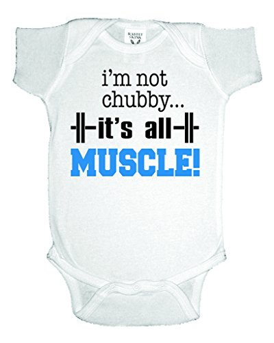 Chubby Muscle One Piece Onesie Bodysuit product image