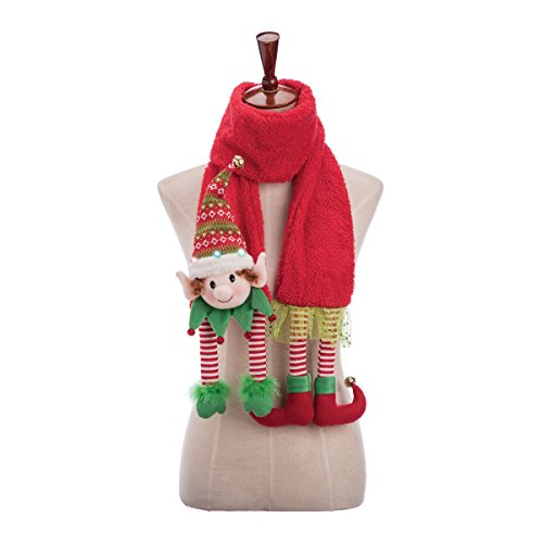 GALLERIE II LED Elf Christmas Xmas Scarf One Size Fits Most - Bath Galleria
