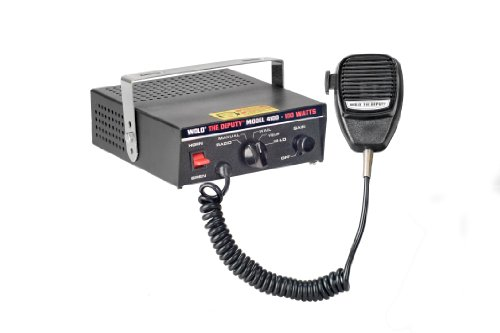 Wolo (4100) The Deputy 100 Watt Electronic Siren, P.A System and Radio Rebroadcast - 12 Volt by Wolo (Image #1)
