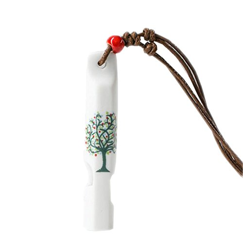 2 Pcs Chinois Handmade Whistles Jouets Belle Chaîne de Chandail