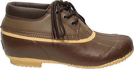 Superieure Boot Co. Mens 3-eye Duck Waterdichte Laarzen Bruin
