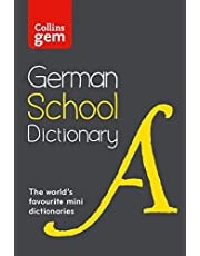 Collins Dictionaries: Collins German School Gem Dictionary: Trusted Support for Learning, in a Mini-Format
