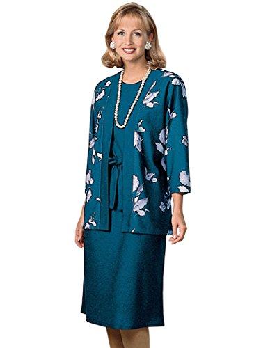 Print Jacket Dress