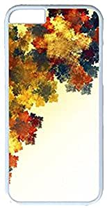 Batchstore Art for iPhone6 Plus Case Multi-color of leaves