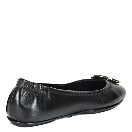 Tory Burch , Damen Ballerinas schwarz schwarz Schwarz