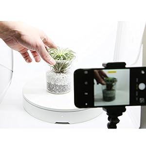 ORANGEMONKIE [Foldio3 + HALO BARS + Foldio360] Portable Photo Studio 25 inch Photo Shooting Tent Lighting Box