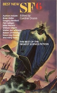book cover of The Best New SF: No. 6