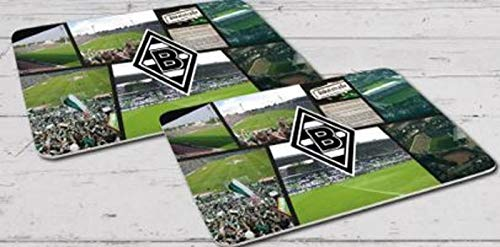 Borussia M/önchengladbach Fr/ühst/ücksbrettchen 2er-Set