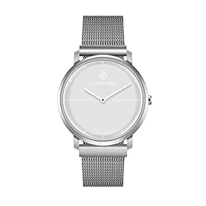 NOERDEN LIFE2+ – Gris – Milanesa – Reloj híbrido Inteligente – 38 mm