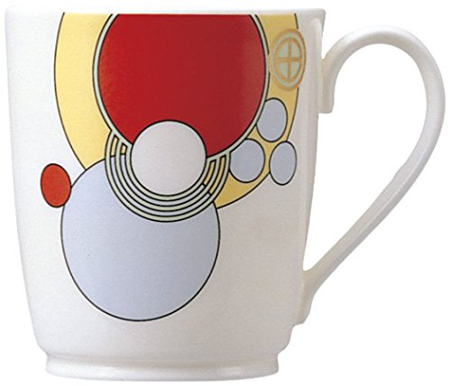 Sakura China Mug (Noritake bone china Frank Lloyd Wright design tableware mugs T97280/4614 (japan import))