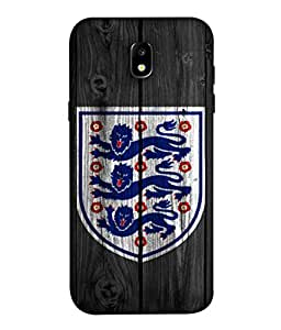 ColorKing Football England 16 Black shell case cover for Samsung J5 Pro 2017