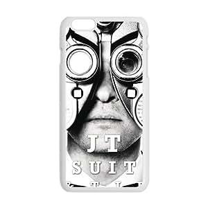 Happy JT Suit Tie Fashion Comstom Plastic case cover For Iphone 6 Plus