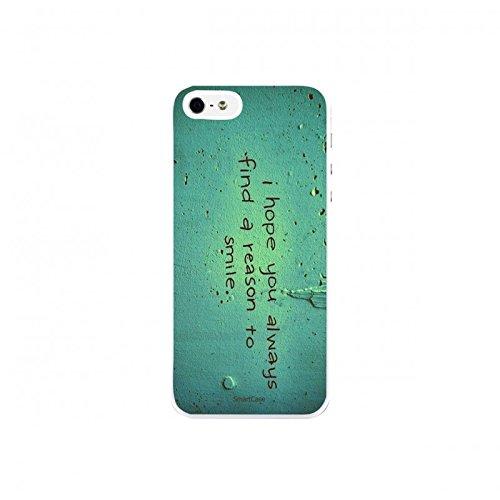 Coque + Verre Trempé pour iPhone 5/5S/SE SmartCase® QUOTE 5