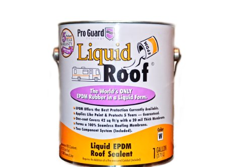 Liquid Roof Rv Roof Coating & Repair 4 Gallon Pail by Liquid Roof (Image #1)