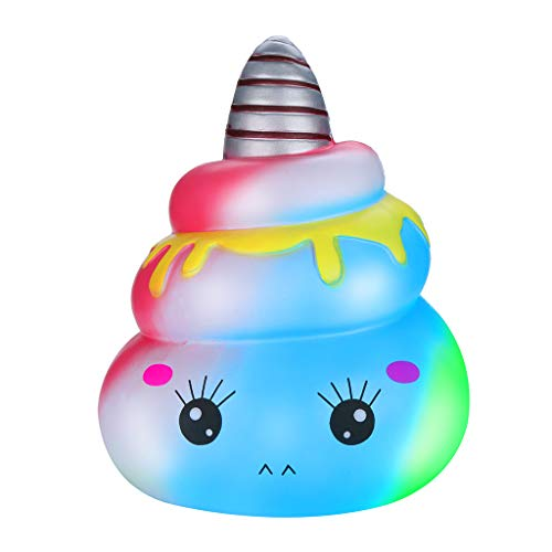 Ecurson Jumbo Sheep Squishy Cute Unicornor Galaxy Super Slow Rising Scented Fun Animal Toys Decompression Squeeze Toys Dolls for Collection Gift by Sunfei