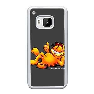 Phone Accessory for HTC One M9 Phone Case Cartoon Garfield G739ML Phone Cover