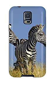 Hot Snap-on Zebra Hard Cover Case/ Protective Case For Galaxy S5