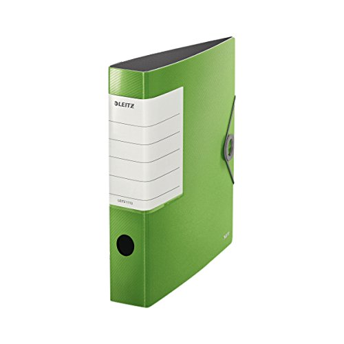 Leitz Multifunction A4Trend Colours Ring Binder–Elastic Closure Plastic Solid slim light green ()