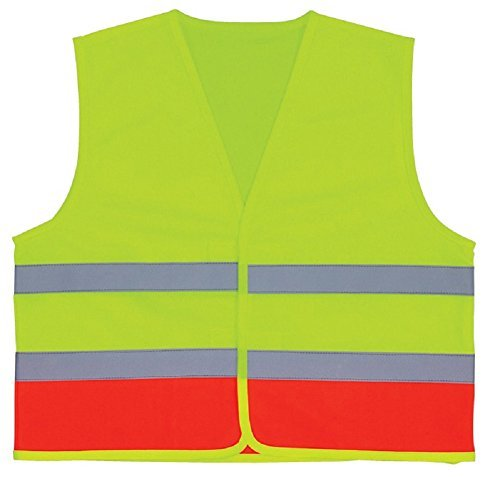 3A Safety - Kids Lime and Orange V Neck Vest (Children 5-10 years) by 3A