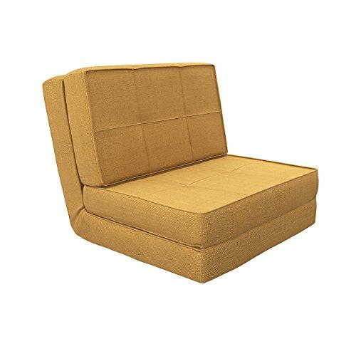 Camabeds Isten Floor Futon Sofa Cum Bed  Brown