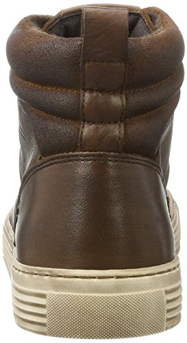 camel active Bowl 32, Sneaker a Collo Alto Uomo Marrone (Bison/Nut 1)