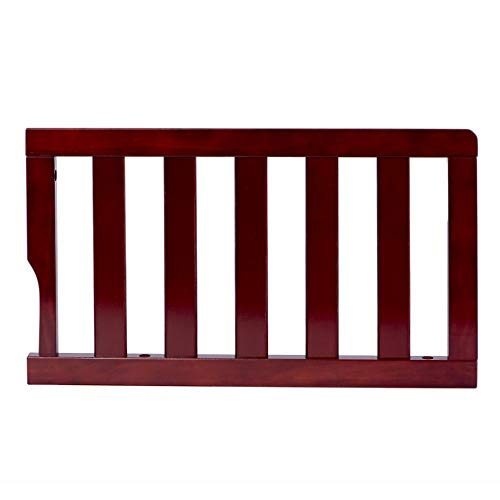 Dream On Me Universal Convertible Crib Toddler Guard Rail, Cherry