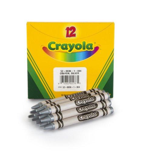 Crayola Crayons, Bulk Silver Crayon Refill, 12 Count