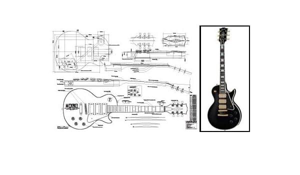 Plan de Gibson Les Paul