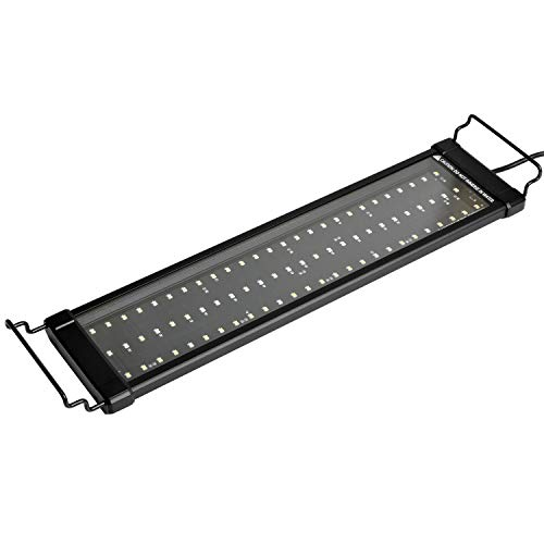 NICREW ClassicLED Plus LED Aquarium Light, Full Spectrum Fish Tank Light for Freshwater, 18 to 24-Inch