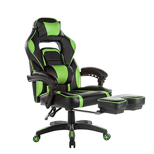 Rent To Own Merax High Back Racing Home Office Chair, Ergonomic Gaming  Chair With