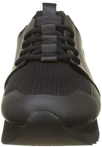 Black G Sneaker RAW Schwarz 990 Deline STAR Damen qnSn17YO