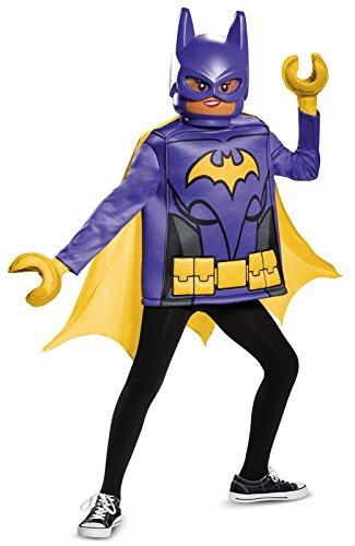 Batgirl LEGO Movie Classic Costume, Black, Medium (7-8)