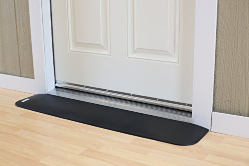 EZEdge Transition Threshold Ramp For a Door Sill, 7/8'' Rise, 7/8'' x 8'' x 41½'' by EZEdge (Image #2)