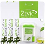 Zevic Stevia Sugar Free White Tablets - 300 Tablets