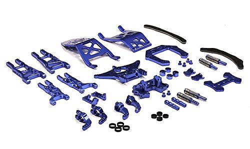 Integy RC Model Hop-ups T8032BLUE Evolution Conversion Set for Traxxas 1/10 Electric Stampede 2WD