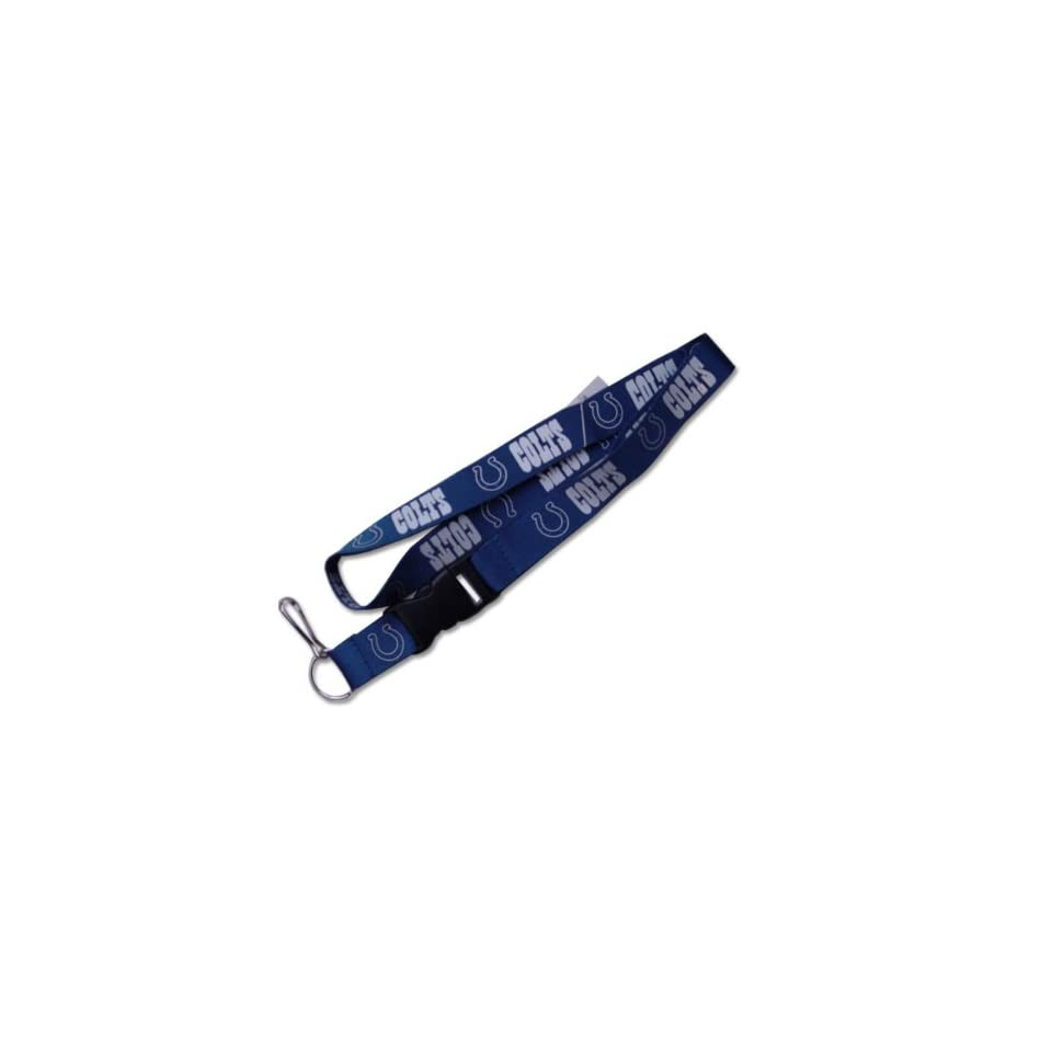Indianapolis Colts Clip Lanyard Keychain Id Ticket Nfl