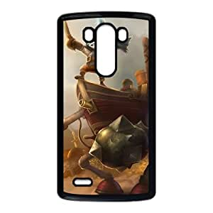LG G3 Phone Case Cover Black League of Legends Bilgerat Rumble EUA15983954 Cell Phone Cover