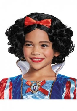 Snow White Deluxe Child Wig, One (Snow White Wig Child)