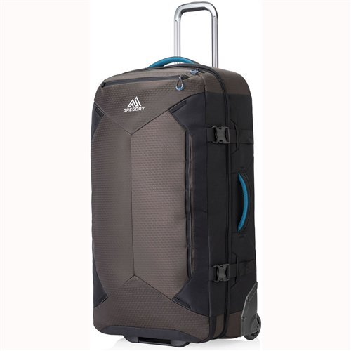 "Gregory Mountain Products Split-Case 30 Inch Roller Duffel Bag, Slate Black, 30"""