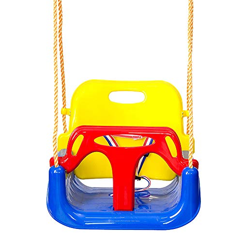 2Krmstr 3-in-1 Toddler Swing Seat for Swing Set,Children Hanging Seat,Infants to Teens Swing Chair