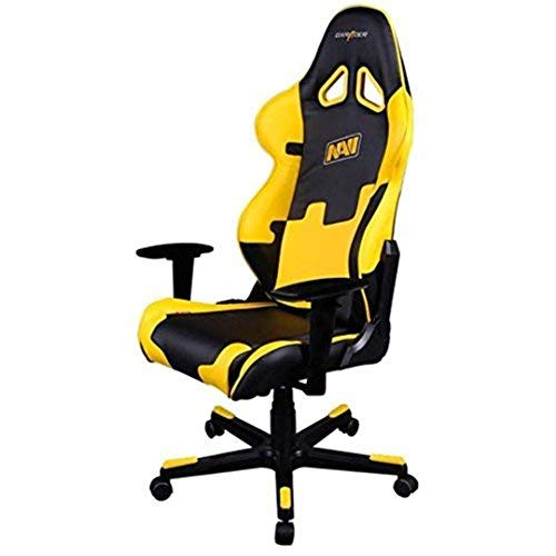 Dxracer - Silla Gaming re21 Negro y Amarillo