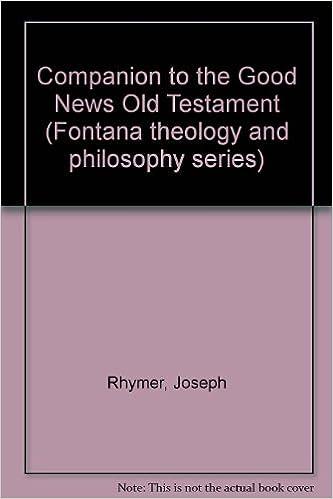 Companion to the Good news Old Testament (Fontana theology