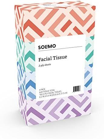 Tissues: Solimo Facial Tissue