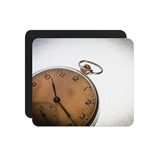 Russian Antique Pocket Watch Background Computer Laptop Mouse (Russian Antique)