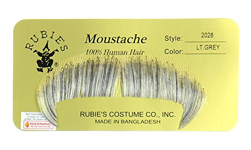 Rubie's Costume Winchester Light Grey Fake Moustache]()