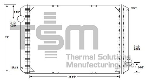 - TSMUSA All Metal Radiator for IC Corporation 3000 IC (2002,2004), IC Corporation RE Commercial (2003-2004), IC Corporation RE School Bus (2003-2004), International 3000 (2000-2002), International 3000