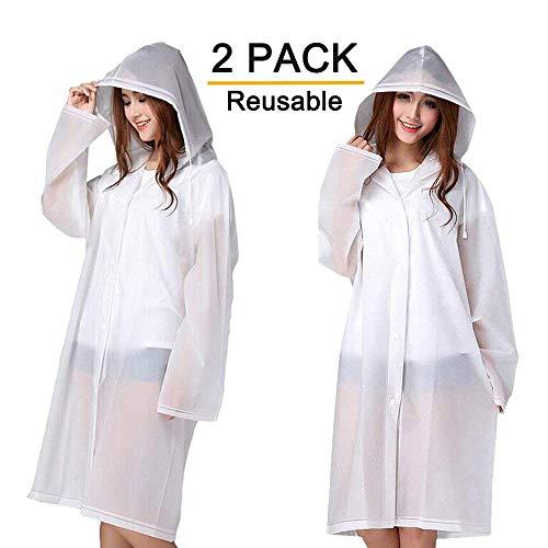 Rain Ponchos 2 Packs