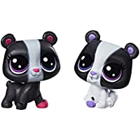 Littlest Pet Shop Black & White Bear BFFs