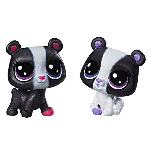 Littlest Pet Shop Black & White Bear BFFs